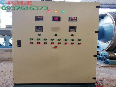 Tủ điện điều khiển Hệ thống Lò sấy mùn cưa 5 tấn/h