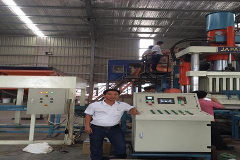 Tủ điều khiển dây chuyền Gạch không nung của Nhà máy gạch Thanh Tuyền