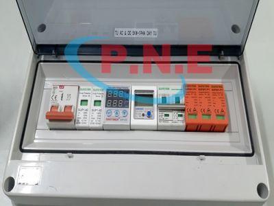 Tủ điện NLMT 2 string 500VDC 1pha-5kW, Năng Lượng Mặt trời, tủ điện DC 500V