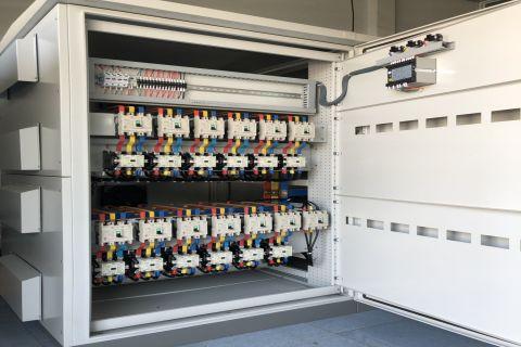 Tủ MSB 3P-2500A và Tủ Bù 3P-750Kvar